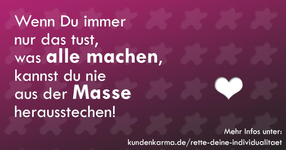 Aus der Masse herausstechen (c) Kunden Karma Positionierung coach Hannover Jasmin Grigutsch