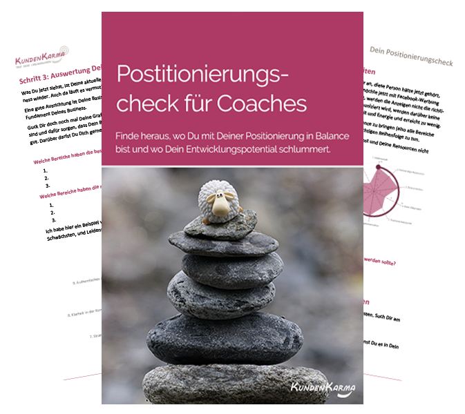 Positionierungscheck für Coaches, Positionierungstest Positionierungscoach Jasmin Grigutsch