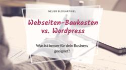 Webseiten Baukasten, Wordpress, Vergleich, Webseitensysteme, webseite erstellen